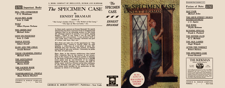 Specimen Case, The. Ernest Bramah