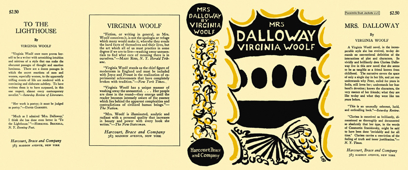 virginia woolf mrs dalloway essay In the spring of 1924, virginia woolf, then in her 40s, gave a famous lecture, later published as the essay mr bennett and mrs brown, in which she declared that we.