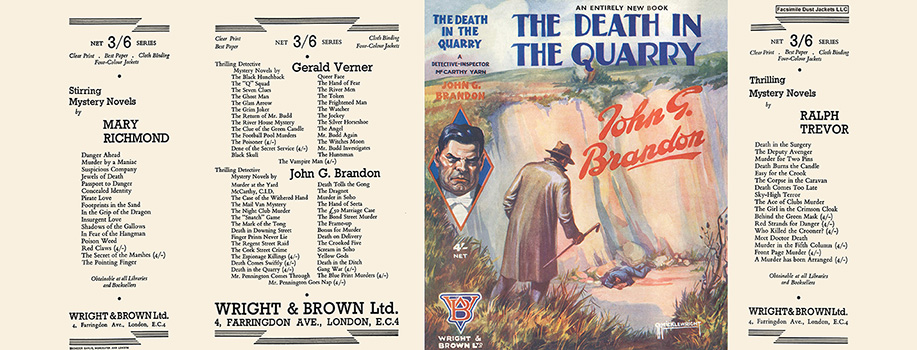 Death in the Quarry, The. John G. Brandon