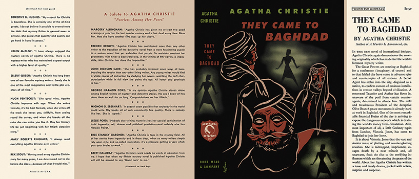 They Came to Baghdad. Agatha Christie.