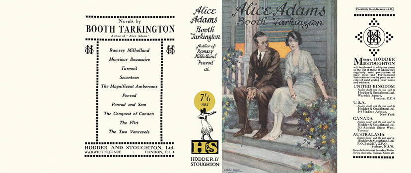 Alice Adams. Booth Tarkington.