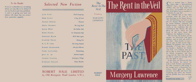 Rent in the Veil, The. Margery Lawrence
