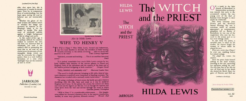 Witch and the Priest, The. Hilda Lewis.