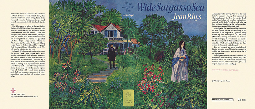 a literary analysis of wide sargasso sea by jean rhys Buy wide sargasso sea (penguin modern classics) new ed by jean rhys   work of postcolonial literature, is jean rhys's brief, beautiful masterpiece   although this is not meant as a criticism on my part, it is interesting to ponder why.