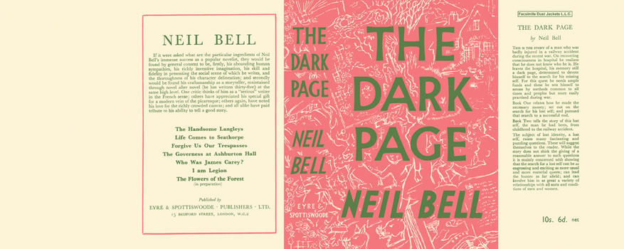 Dark Page, The. Neil Bell