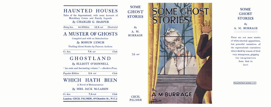 Some Ghost Stories. A. M. Burrage