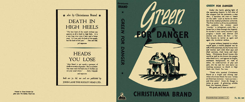 Green for Danger. Christianna Brand.
