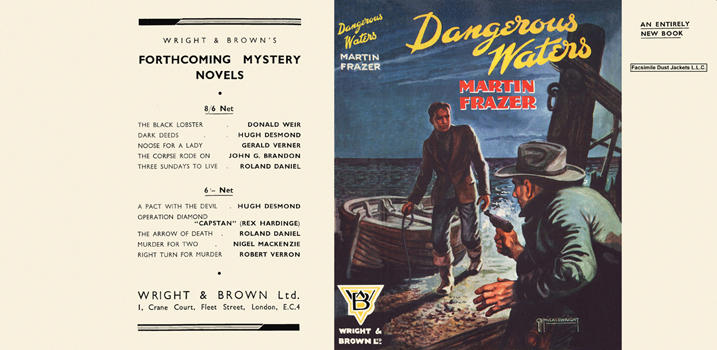Dangerous Waters. Martin Frazer.