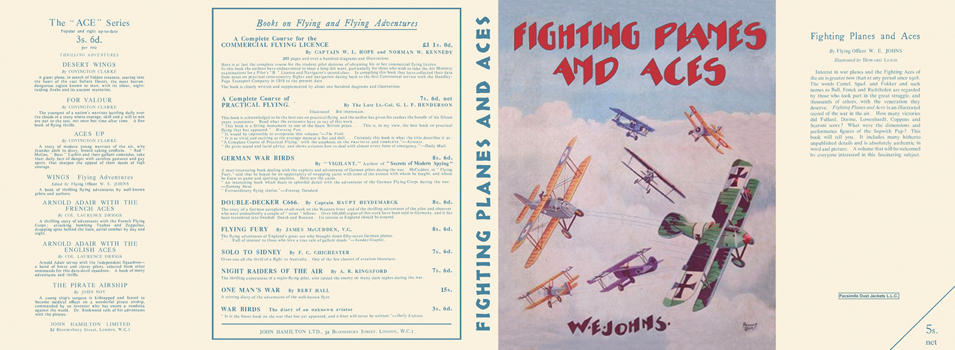 Fighting Planes and Aces. Captain W. E. Johns