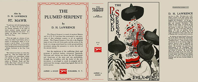 Plumed Serpent, The. D. H. Lawrence.