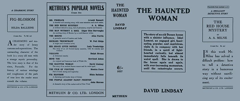 Haunted Woman, The. David Lindsay