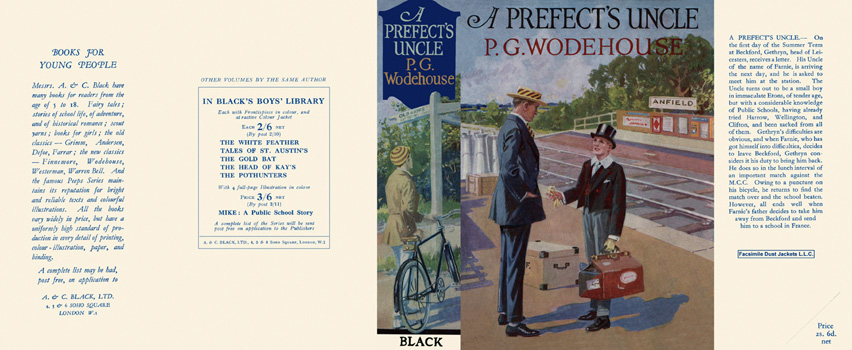 Prefect's Uncle, A. P. G. Wodehouse