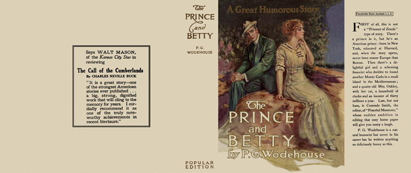Prince and Betty, The. P. G. Wodehouse