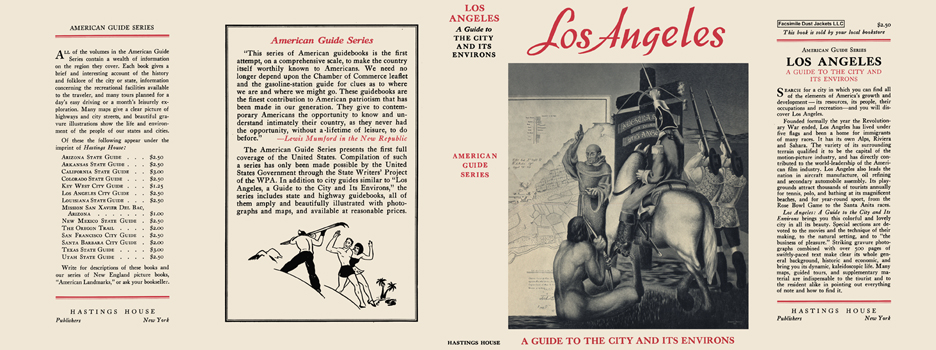 Los Angeles, A Guide to the City and Its Environs. American Guide Series, WPA.