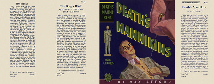 Death's Mannikins. Max Afford