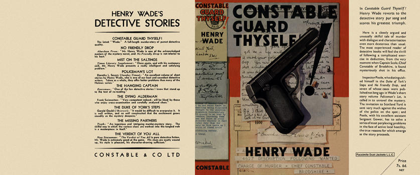 Constable Guard Thyself. Henry Wade.