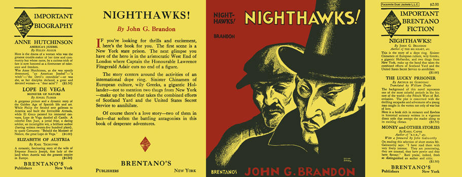 Nighthawks! John G. Brandon.