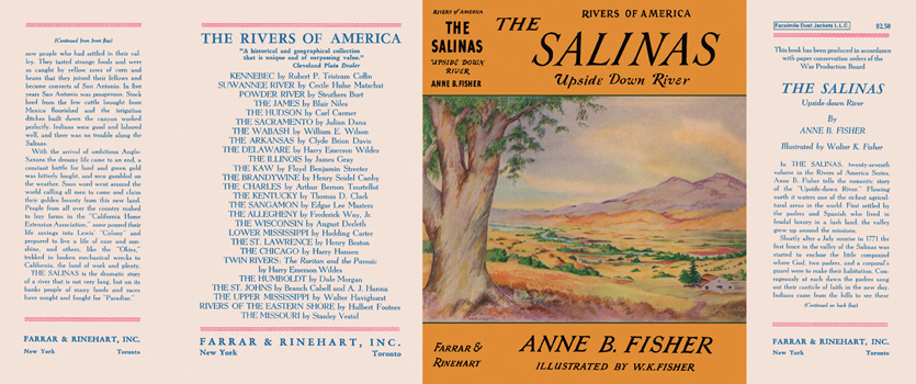 Salinas, Upside Down River, Rivers of America, The. Anne B. Fisher