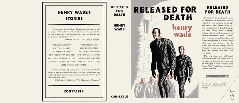 Released for Death. Henry Wade.
