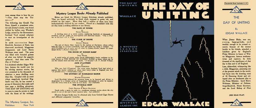 Day of Uniting, The. Edgar Wallace.