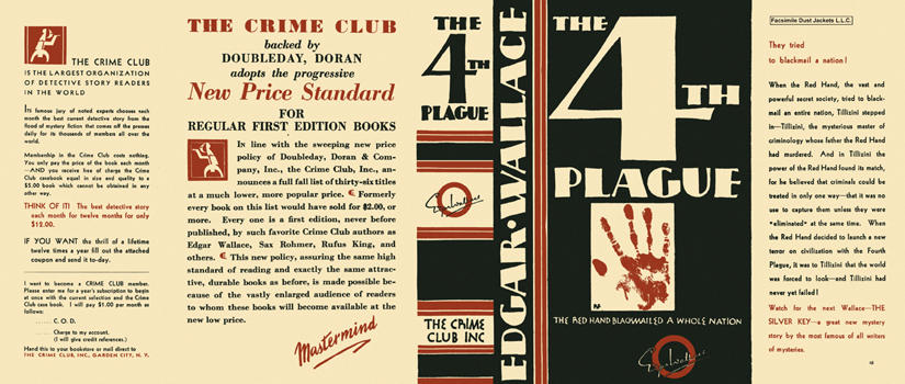 4th Plague, The. Edgar Wallace.