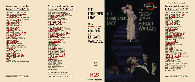 Frightened Lady, The. Edgar Wallace.