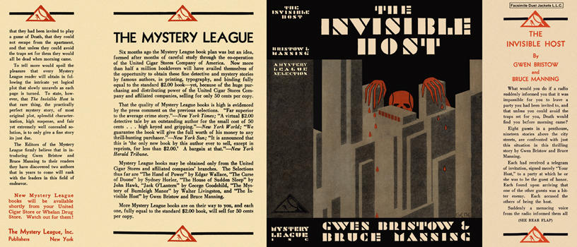 Invisible Host, The. Gwen Bristow, Bruce Manning.