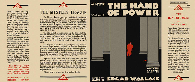 Hand of Power, The. Edgar Wallace.