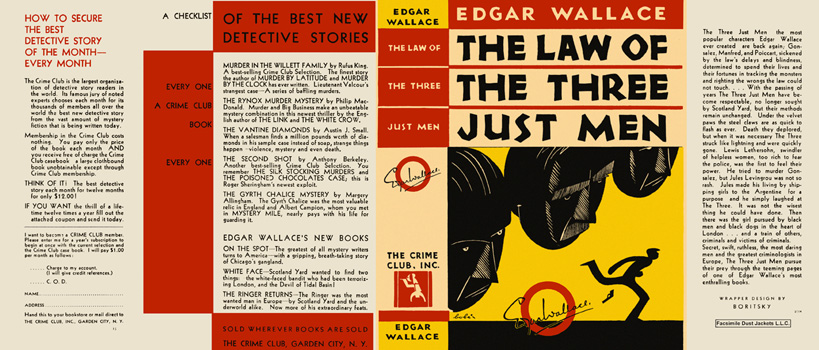 Law of the Three Just Men, The. Edgar Wallace