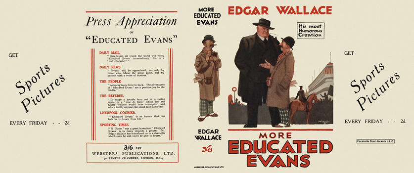 More Educated Evans. Edgar Wallace