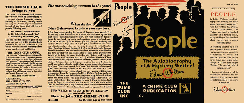 People. Edgar Wallace.