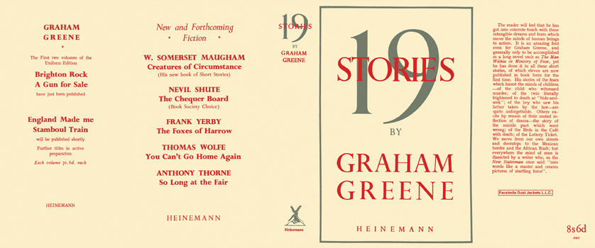 19 Stories. Graham Greene.