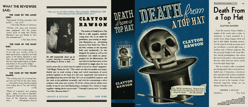 Death from a Top Hat. Clayton Rawson.