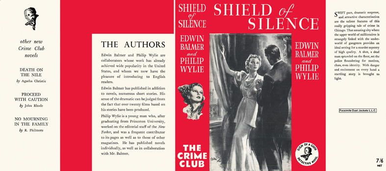 Shield of Silence. Edwin Balmer, Philip Wylie.