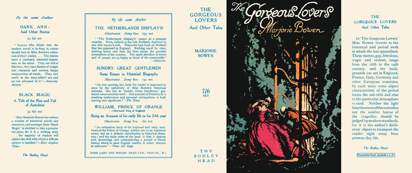 Gorgeous Lovers and Other Tales, The. Marjorie Bowen.