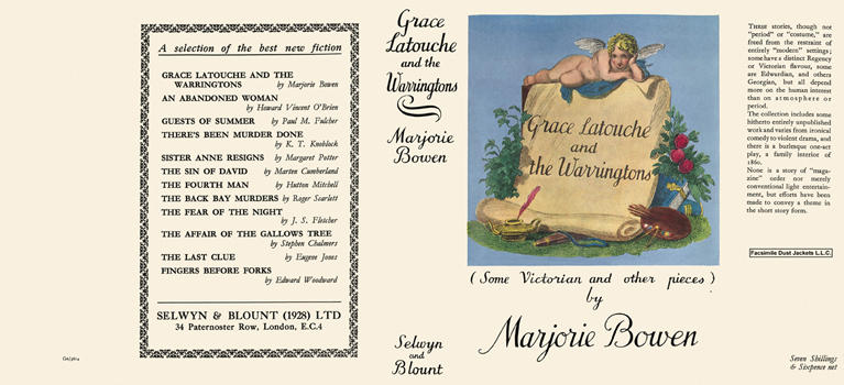 Grace Latouche and the Warringtons. Marjorie Bowen.