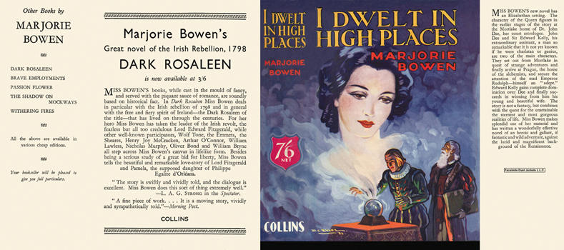 I Dwelt in High Places. Marjorie Bowen.