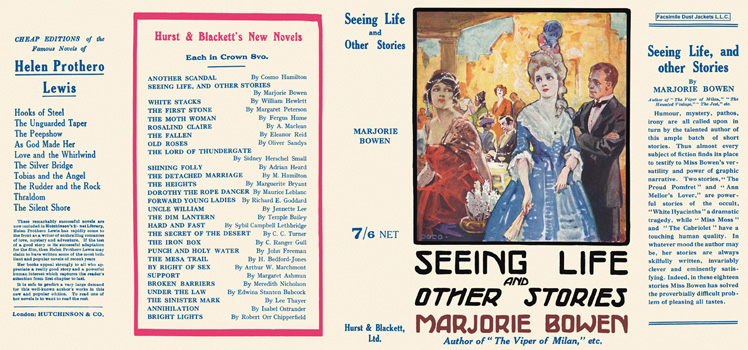 Seeing Life and Other Stories. Marjorie Bowen.