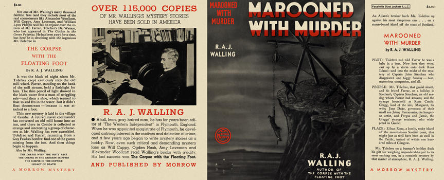 Marooned with Murder. R. A. J. Walling.