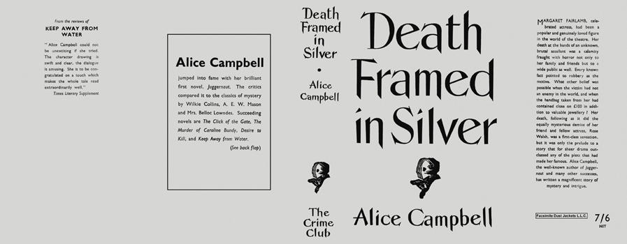 Death Framed in Silver. Alice Campbell.