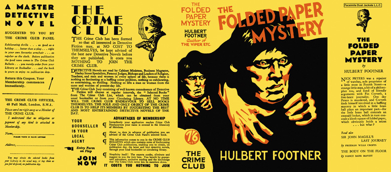 Folded Paper Mystery, The. Hulbert Footner