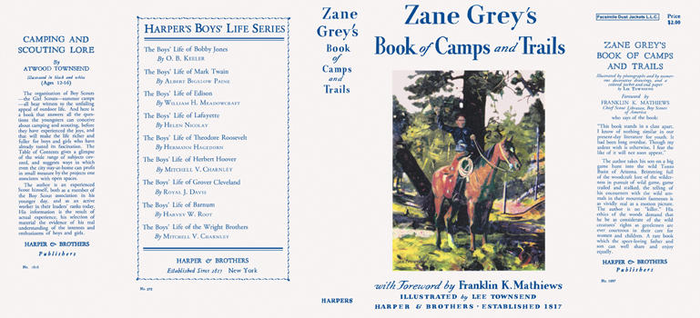 Book of Camps and Trails. Zane Grey