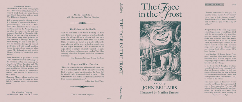 Face in the Frost, The. John Bellairs, Marilyn Fitschen