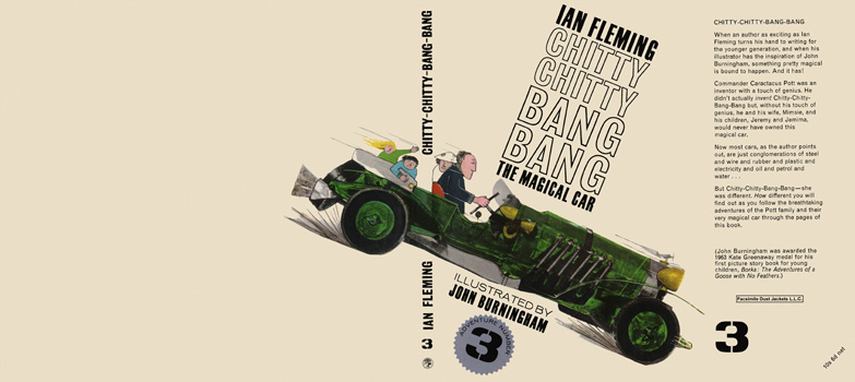 Chitty Chitty Bang Bang, The Magical Car Adventure 3. Ian Fleming.