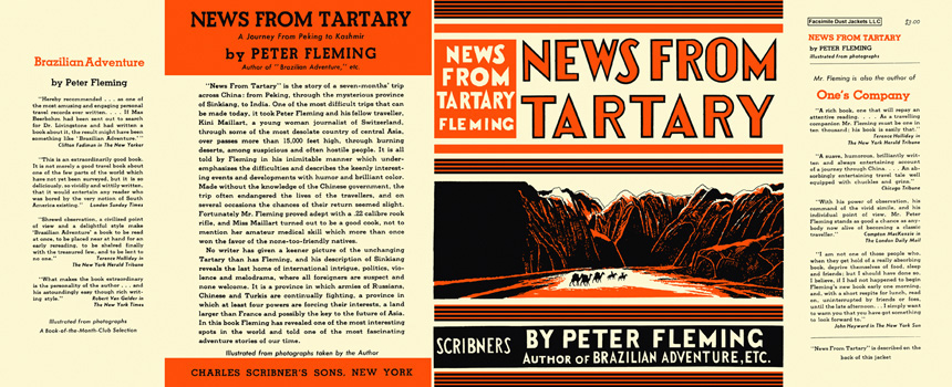 News from Tartary. Peter Fleming.