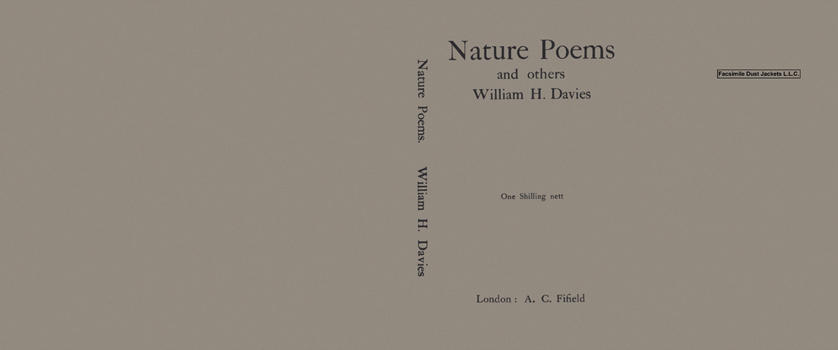 Nature Poems and Others. William H. Davies