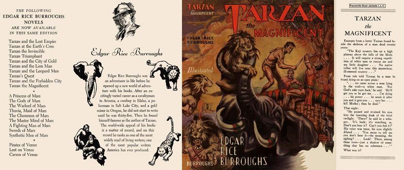 Tarzan the Magnificent. Edgar Rice Burroughs.