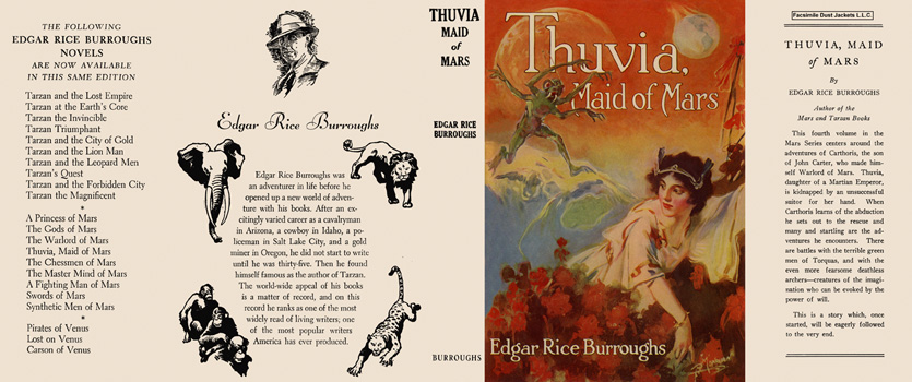 Thuvia, Maid of Mars. Edgar Rice Burroughs.