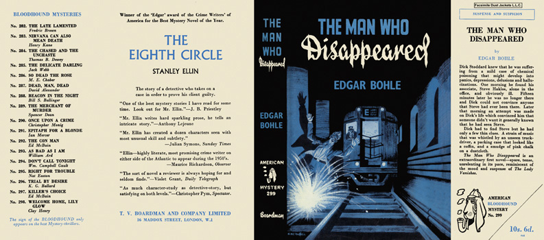 Man Who Disappeared, The. Edgar Bohle.