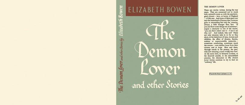 Demon Lover and Other Stories, The. Elizabeth Bowen.